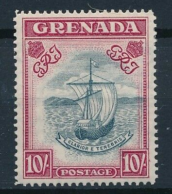 [33619] Grenada 1951 Boat Perforation 14 Good stamp Very Fine MH