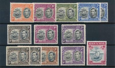 [33625] Grenada Boats Good lot old stamps Very Fine MH