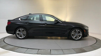 2018 BMW 4-Series 430i Gran Coupe 430i Gran Coupe 4 Series 4 dr Automatic Gasoline 2.0L 4 Cyl Black Sapphire Metal