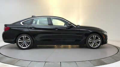 2018 BMW 4-Series 430i Gran Coupe 430i Gran Coupe 4 Series New 4 dr Automatic Gasoline 2.0L 4 Cyl Jet Black