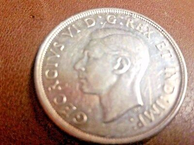 "1947 CANADA BLUNT 7 SILVER DOLLAR Mirror finish ""Uncirculated"""