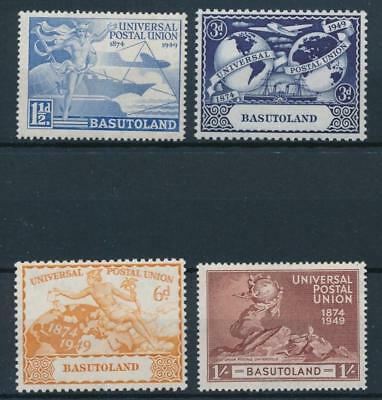[59621] Basutoland 1949 UPU good set MNH Very Fine stamps