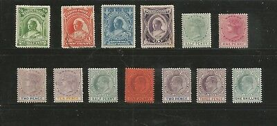 Nice lot Niger Coast and Lagos 1800's-1900's -