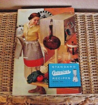 Osterizer Recipes  Standard Vtg Collectible 1950s Cookbook Kitchen Advertising