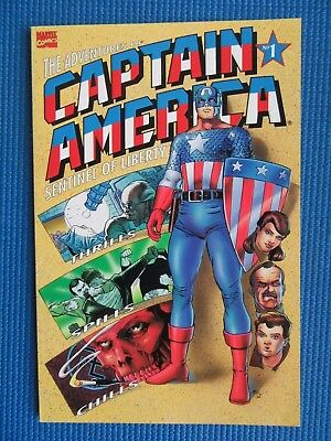 The Adventures Of Captain America # 1 - (Nm) - 1St Issue - Sentinel Of Liberty