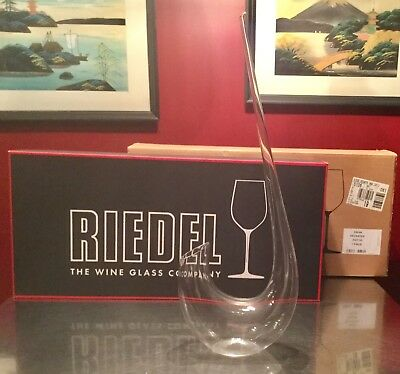 "Riedel ""The Swan"" Wine Decanter 2007/02 NEW IN BOX!"""""