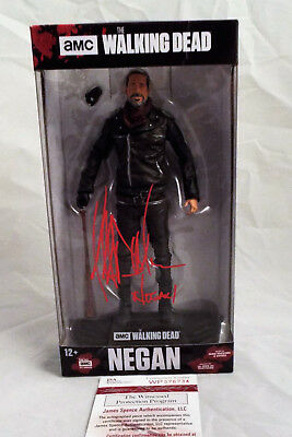 Jeffrey Dean Morgan SIGNED Negan 7 Inch Figure JSA COA Walking Dead