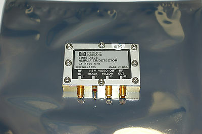 HP / Agilent 5086-7808 Amplifier / Detector Module. Tested