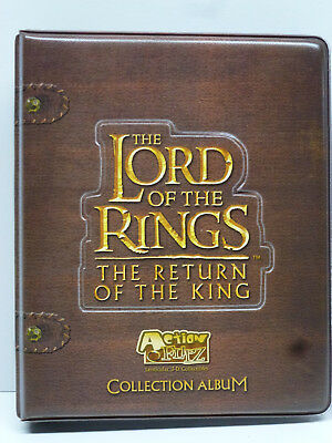 Lord of the Rings ROTK Flipz Lenticular Card Set in Collector Binder by Artbox