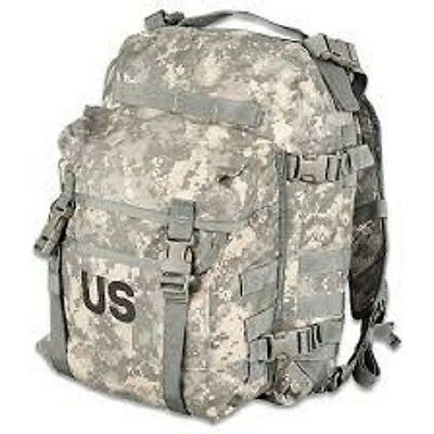 US Army Military Issue Digital ACU patrol 3 Days Molle Back Pack Backpack vg