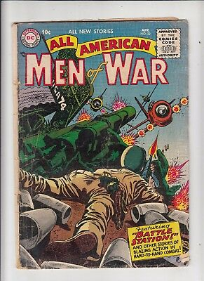 All American Men of War #32 (DC 1956) fair condition