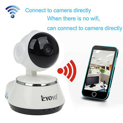Wireless Wifi 720P HD IP Camera IR-Cut Night Vision Audio Cam Baby Pet Monitor