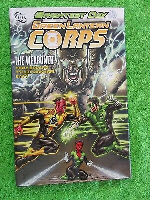 Green Lantern Corps Brightest Day Weaponer DC Hardcover Book Comics VF NM NR