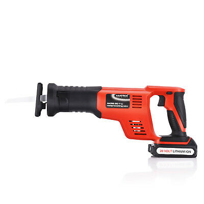 NEW Matrix 20v Cordless Reciprocating Saw Li-Ion Electric Power Tool Skin Only