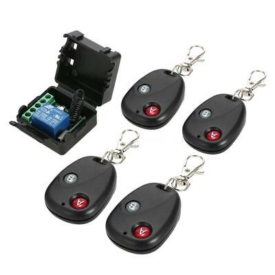 Relay DC 12V 1CH Wireless Remote Control Switch Transmitter Receiver System Y2F0