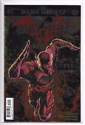 Batman The Red Death #1 Dark Nights Metal 1st Print NM Sold Out Foil Cover