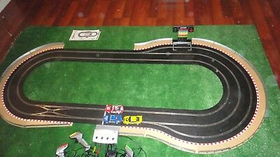 Scalextric Digital Slot Car Triple Cup Set With Pit Lane Game & Heaps Of Extras