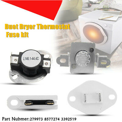 279973 8577274 3392519 DRYER THERMOSTAT THERMAL FUSE CUT OFF kIT FOR WHIRLPOOL