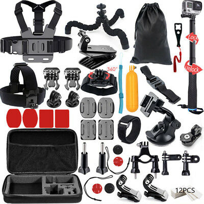 Accessories Kit for Gopro hero 7 6 5 Session 4 3+ SJCAM/Xiaomi yi /EKEN H9R Set