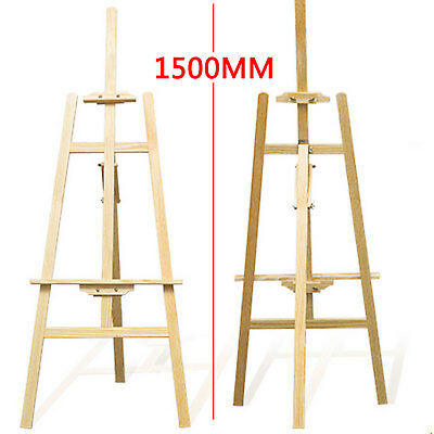 Easel Wooden Artist Art Tripod Folding Portable Sketch Painters Drawing Display