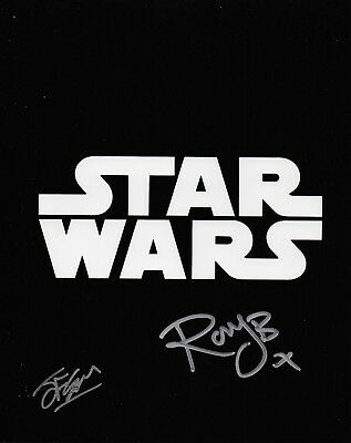 Photo - Multi signed Star Wars in person signed autographs - Smudged