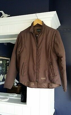 DUBLIN Brown Convertible Riding Jacket Vest Removable Sleeves size S