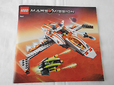 LEGO Bauanleitung 7647, MX-41 Switch Fighter