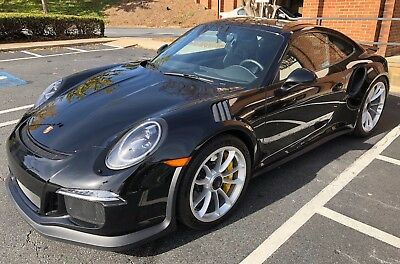 2016 Porsche 911 GT3 RS 2016 Porsche GT3 RS - Paint to Sample Black - CPO'd - Only 835 Miles!
