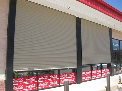 DuroSTEEL JANUS 12' X 16' 2000i Series INSULATED Commercial Roll-up DOORS DiRECT