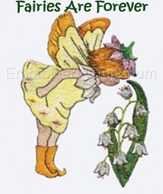 Fairies Are Forever Collection - Machine Embroidery Designs On Cd