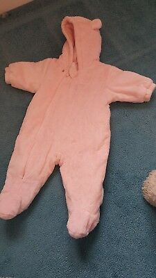 Snow suit, 0-3 months, Next, Worn once