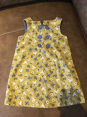 Mini Boden Printed Cord Dress 18-24 Months