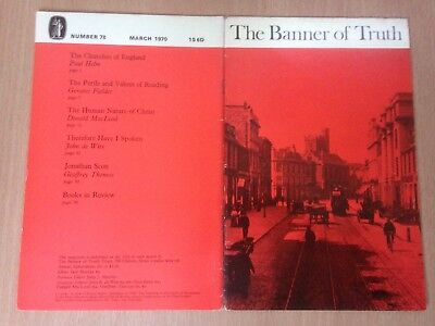 The Banner of Truth magazine, Issue 078 March 1970