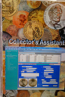 Collectors Assistant For Us Coins Never Used Requires Windows Xp,vista, Or 7