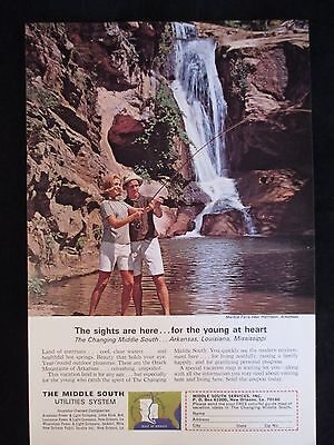 The Middle South Utilities System Original 1965 National Geographic Ad