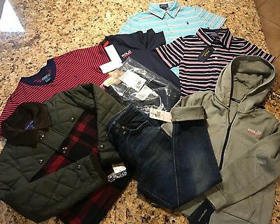 NWT Lot of Ralph Lauren Boy's Clothing Size 6 & 7