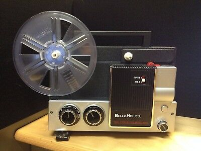Vintage bell & howell projector auto model mx32 dual 8MM movie Super 8/Regular 8