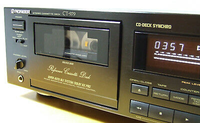 Pioneer Ct-979 High-End - New Belts & Idler, Mint Condition - Revidiert!