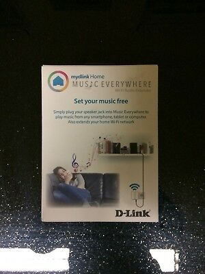 D-Link DCH-M225/E wireless Audio Extender (300Mbps)