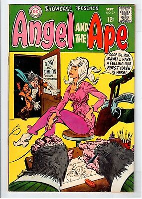 Showcase #77 Silver Age DC Comics Angel And The Ape