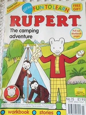 Fun to learn Rupert comic