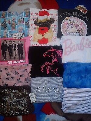NICE NEW USED 26x BUNDLE OUTFITS GIRL CLOTHES 12/14+YRS 12/13 Y 13/14Y (4.5)