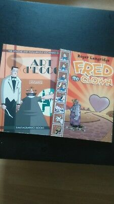 Fred the Clown and Art d'Ecco graphic novels