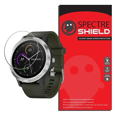 [6-PACK] Spectre Shield Screen Protector for Garmin Vivoactive 3 (Military-Gr...