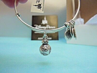 Alex & Ani Star Wars Bb8 3D Silver Charm Bangle Authentic Disney Parks NEW BNWT