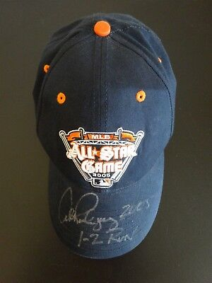 4d5698fe1268e Alex Rodriguez Signed Auto 2005 All Star Game Baseball Stat Hat Autographed