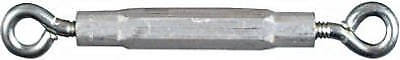 "Turnbuckle, Eye & Eye, Zinc, 5/16 X 9"", Spectrum, N221-754"