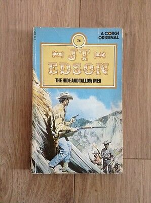J. T. Edson (74). The Hide and Tallow Men Paperback Book