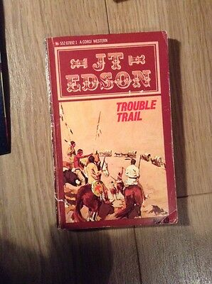 JT Edson (19) Trouble Trail Paperback Book