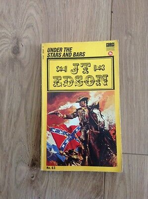 J. T. Edson (63) Under the Stars and Bars Paperback Book